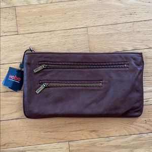 Hobo Soft Italian Leather Sonoma Clutch